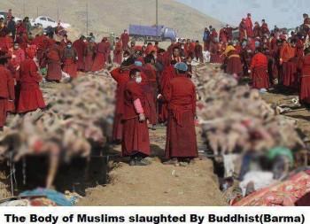 Persécutions religieuses en Birmanie Cadavres-flouttés-350x253