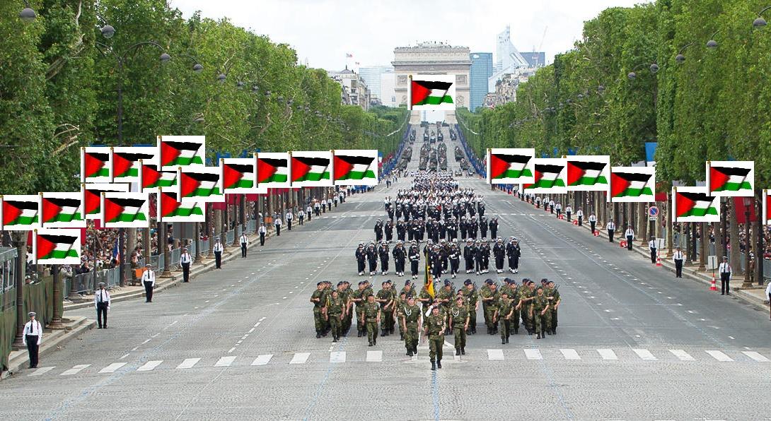 14 juillet palestine