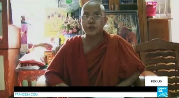 Video birmanie l 39 essor d 39 un bouddhisme radical anti for Salon musulman 2017