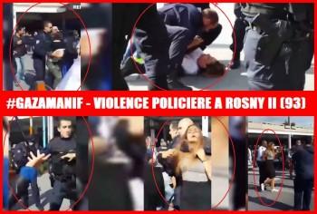 ROSNY 2 gaza police
