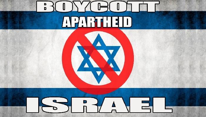 boycott israel drapeau