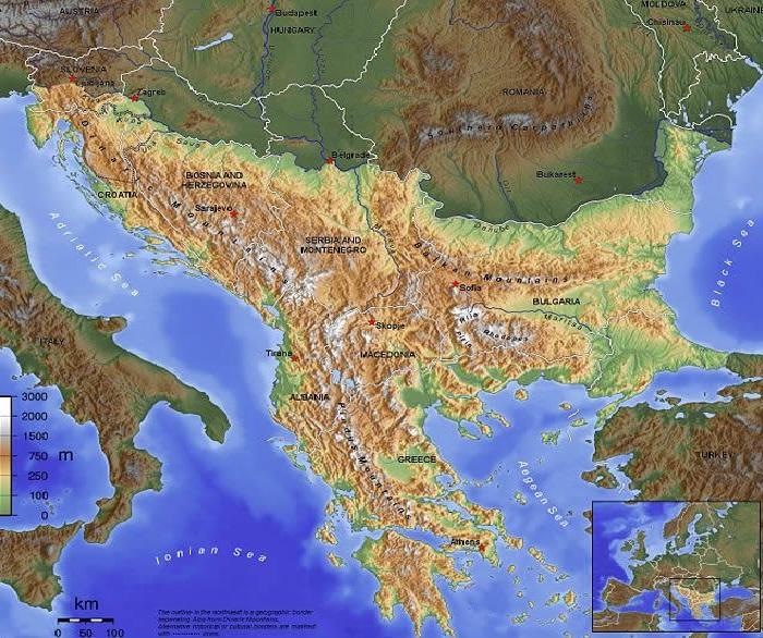 BalkanMap