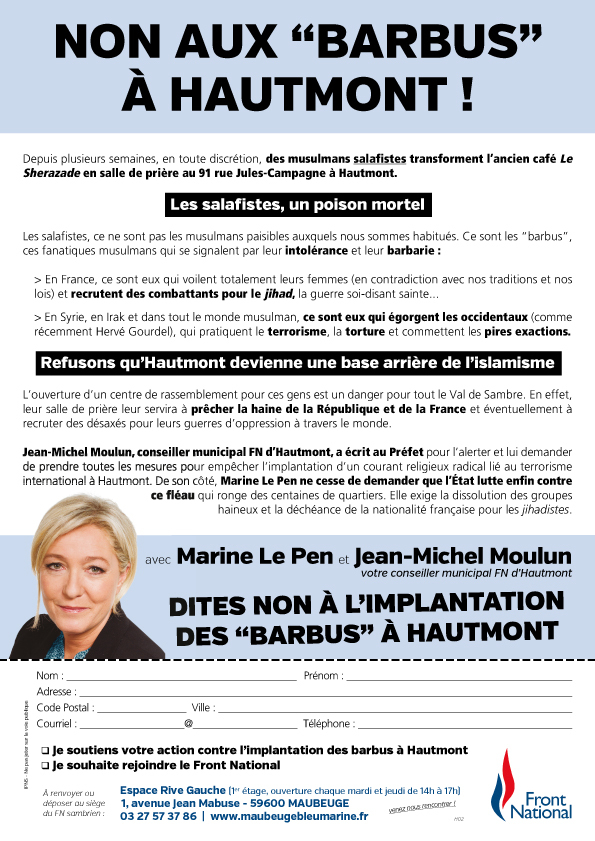 Tract-anti-mosquée-à-Hautmont
