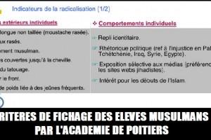 MEDIAPART radicalisation musulman academie de poitiers