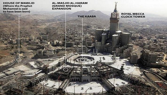 arabie saoudite la maison du proph te lui la paix va. Black Bedroom Furniture Sets. Home Design Ideas