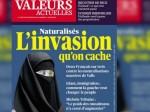 valeurs actuelles une islamophobe niqab