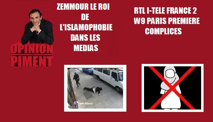 zeMMOUR DEPOrter les musulmans