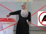 femme voilée vote