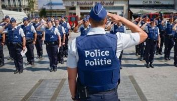 belgique police stage