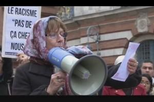 toulous khadija agression islamophobie rassemblement