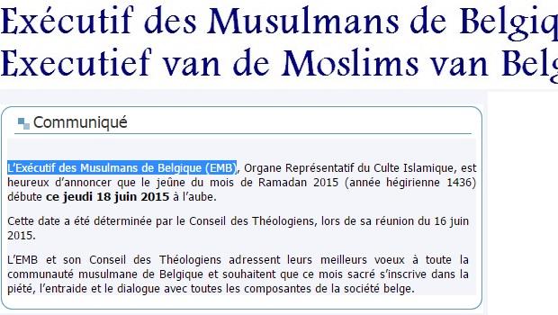 Rencontres musulmanes belgique