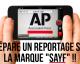 L'Associated Press ( AP) à la rencontre d'Hassen, créateur de la marque Sayf