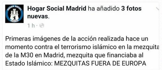mosquée madrid tweet