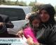 Les retrouvailles émouvantes de la petite palestinienne emprisonnée par les israéliens [ VIDEO ]