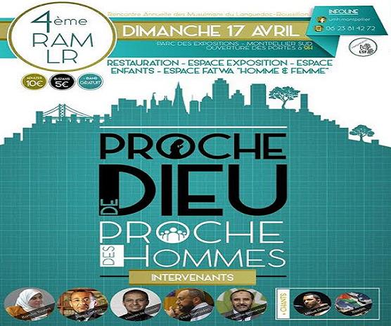 Rencontre annuelle des musulmans du sud 2016
