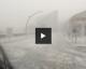 Saint-Nazaire : La spectaculaire vidéo de l'orage de grêle