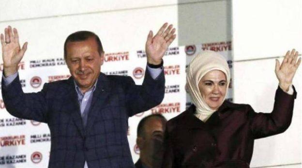 erdogan femme turquie