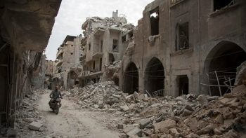syrie bombardement