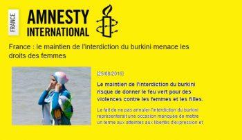 amnesty international burkini