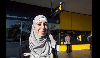 australie travailler hijab banque