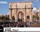 Rome : Prière géante de protestation [ VIDEO ]