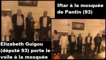 elizabeth guigou voilée mosquée de pantin