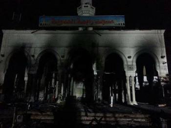 Egypte - La mosquée Rabaa Al Adawiyya du Caire prise pour ci...