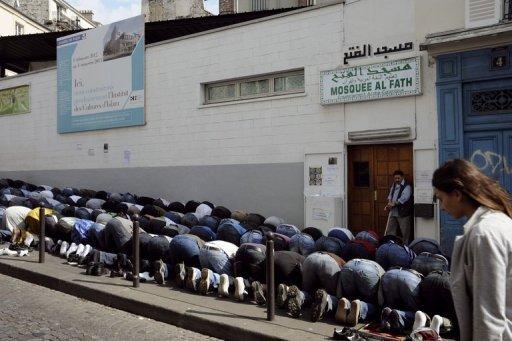 musulmans-prière-de-rue