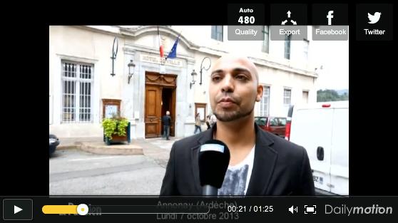 Sofiane Ghoubali - Candidat Front National d'origine algérie...