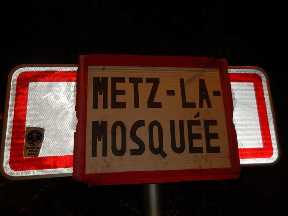Metz la mosqu e les extr mistes identitaires - Cora en ville metz ...