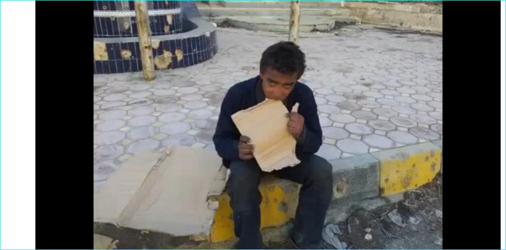 syrie l 39 enfant qui mangeait du carton pour tromper sa faim islam info. Black Bedroom Furniture Sets. Home Design Ideas