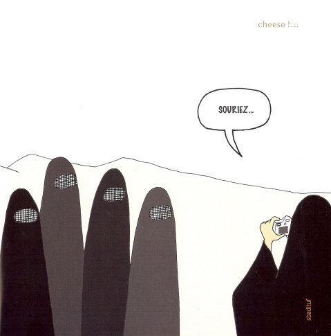 burqa un livre en biblioth que pour se moquer des femmes en voile int gral islam info. Black Bedroom Furniture Sets. Home Design Ideas