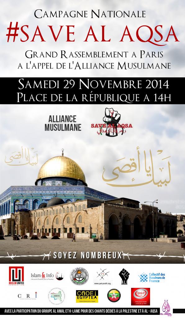 Affiche SaveAqsa++++