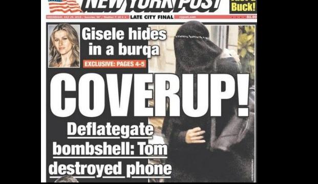 Gisele Bündchen, célèbre mannequin, en niqab ...