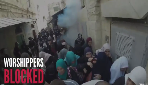 Mosquée Al Aqsa profanée par les israéliens p...