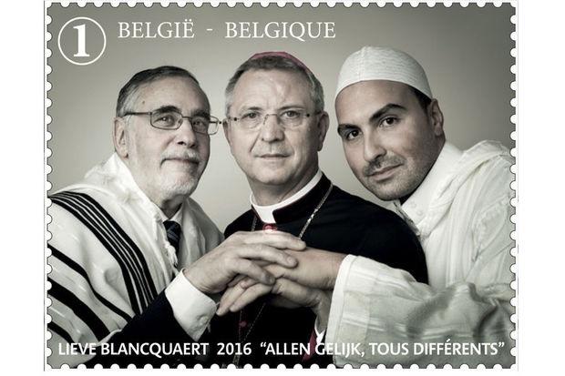 Les trois grands représentants religieux de Belgique