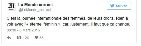 tweet femme