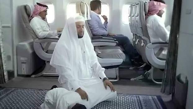 La compagnie aérienne saoudienne installe des salles de prière dans ses avions