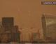 Le ciel londonien doré après le passage de l'ouragan Ophelia #SobhanAllah