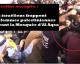 #Palestine : Un soldat israélien frappe une femme palestinienne devant la Mosquée d'Al Aqsa