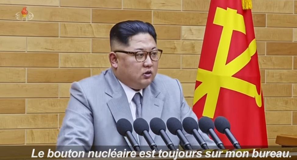 Kim Jong Un Rappelle Aux Usa Que Le Bouton Nucl Aire Est