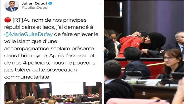 Dijon : Une femme musulmane agressée verbalement par un élu RN