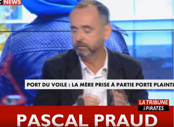 Pascal Praud, chroniqueur sur Cnews veut interdire le voile