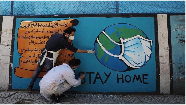 GAZA: DES ARTISTES UNIS FACE AU CORONAVIRUS !