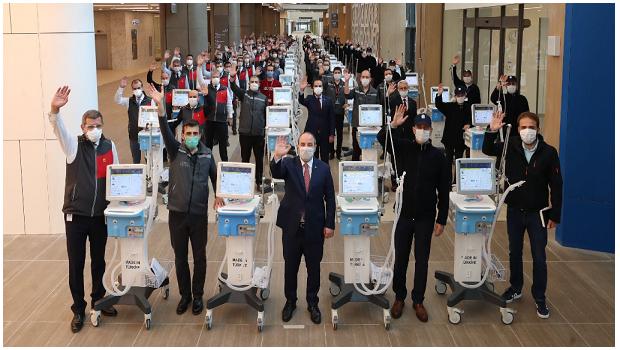 TURQUIE : ILS FABRIQUENT 1150 RESPIRATEURS EN 1 MOIS !