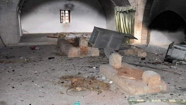SYRIE : LA TOMBE DU CALIFE UMAR IBN ABDUL AZIZ PROFANEE PAR LES MILICES CHIITES !