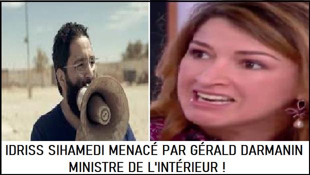 IDRISS SIHAMEDI MENACÉ PAR GÉRALD DARMANIN, MINISTRE DE L'INTÉRIEUR !