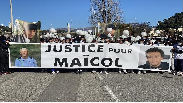 MAÏCOL POURSUIVI PAR LA POLICE TROUVE LA MORT EN SCOOTER ! #JusticePourMaïcol